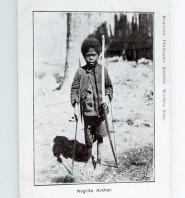 Negrito Archer Postcard - Close Up