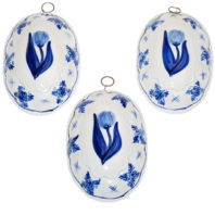 Delft Blue Tulip - Set Fronts