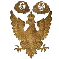 Brass Eagle and Military Cockades - Front