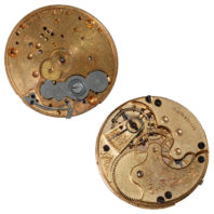 Elgin 7J 6S Hunting Movement - Front and Back