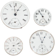 Pocket Watch Movements - Faces