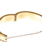 1920s Gold Bracelet - Hinge