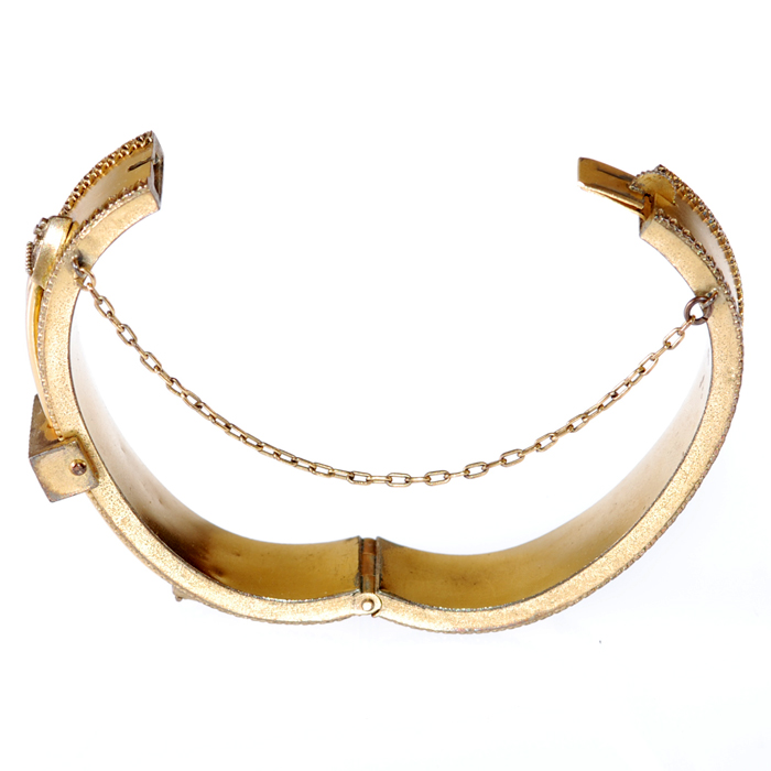 1920s Gold Bracelet - Open