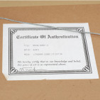 """Alaniz """"Spring Sunset II"""" Lithograph - Certificate of Authentication"""