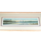"""Alaniz """"Spring Sunset II"""" Lithograph - Just Picture"""