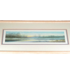 "Alaniz ""Spring Sunset II"" Lithograph - Just Picture"