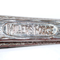 Millers Forge Nail Clippers - Logo Close Up