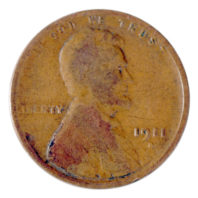 1911 D Wheat Penny OB4846