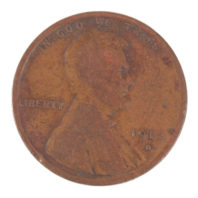 1912 D Wheat Penny Obverse