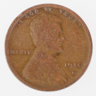 1914 S Lincoln Cent - Wheat Penny Obverse
