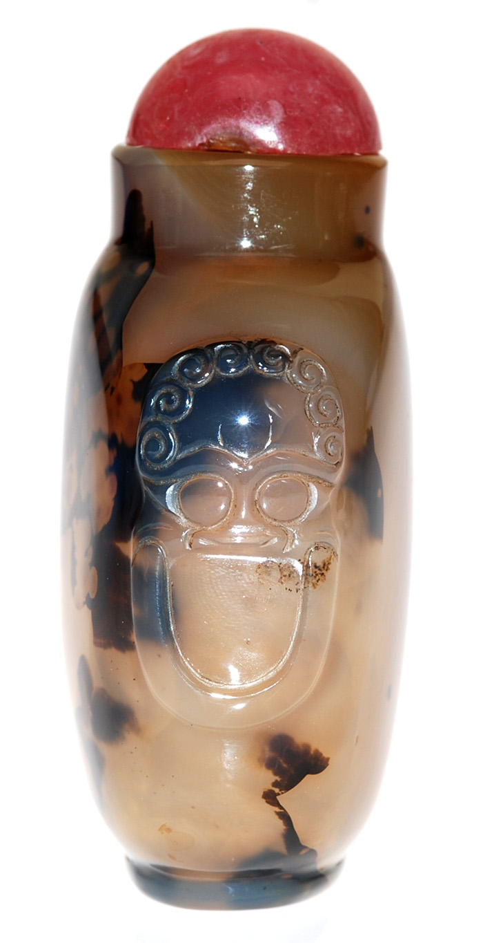 Agate Snuff Bottle 09-3022g