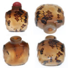 Agate Snuff Bottle Combo 09-3022