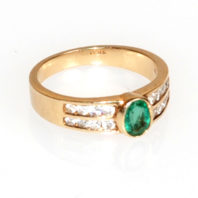 14K Emerald