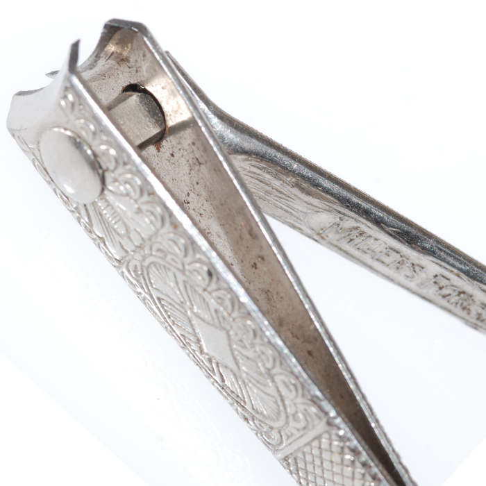Vintage finger nail clipper